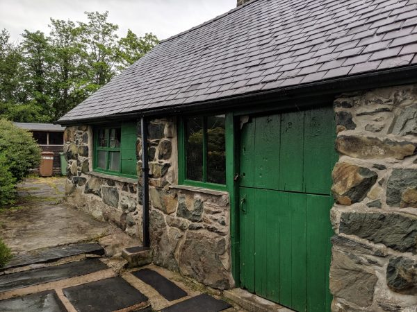 the old candle factory barn, dolgellau